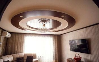 Дизайн потолка: варианты оформления