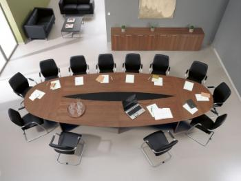 Интерьер комнаты для совещаний: не для чужих ушей
