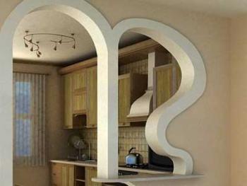 Арочные конструкции в интерьере