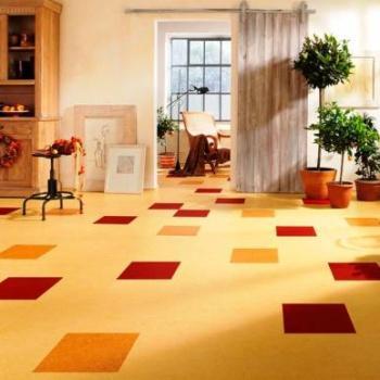 Виниловая плитка: особенности и преимущества материала
