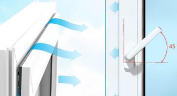 Микропроветривание пластиковых окон.Разновидности и применение