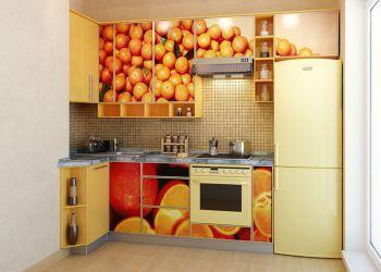 Оранжевая кухня – апельсиновый рай