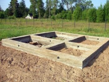 Строительство бани: подготовка