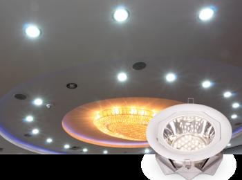 Точечные светильники: виды и особенности