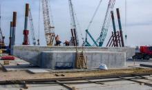 Строители начали сборку арочных пролётов Керченского моста