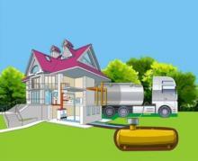 Заправка газгольдера газом: особенности процедуры