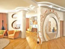 Арочные конструкции в интерьере: формы и размеры