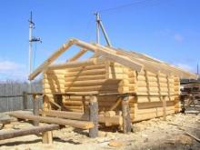 Строительство бани: из парилки - в мойку