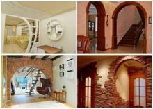 Межкомнатные арки и их роль в интерьере дома
